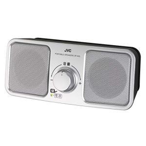 (新品未使用)JVC SP-A55-S ポータブルスピーカー シルバー|3-sense