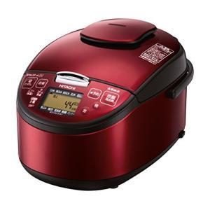 (新品未使用)日立 圧力スチームIH炊飯器 5.5合 レッド RZ-SG10J-R|3-sense