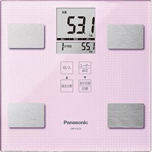 (新品未使用) パナソニック 体重・体組成計   ライトピンク EW-FA23-M  【メーカー名】...
