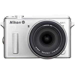 (新品未使用)Nikon ミラーレス一眼カメラ Nikon1 AW1 防水ズームレンズキット シルバ...