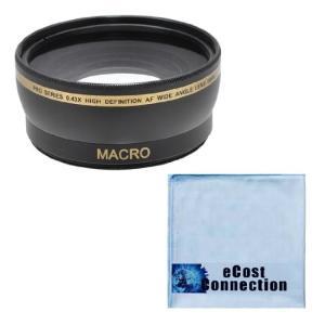(新品未使用)Pro Series 58?mm 0.43?X広角レンズ+マイクロファイバー布for ...