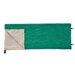 (新品未使用)BUNDOK(バンドック) 封筒型 シュラフ グリーン BDK-30G 寝袋 収納ケース付|3-sense