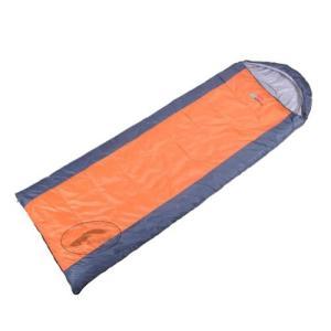 (新品未使用)アウトドア封筒型寝袋の3シーズンMild Weather (オレンジ)|3-sense