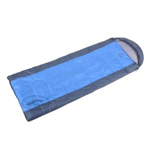(新品未使用)アウトドア封筒型寝袋の3シーズンMild Weather (ブルー)|3-sense