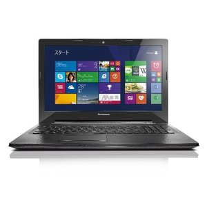 (新品未使用)Lenovo ノートパソコン G50(Windows 8.1 64bit/Office Home & Business 201 3-sense