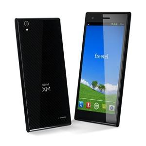 (新品未使用)freetel フリーテル SIMフリー スマートフォン LTE XM ( Android 4.4 / 5.0|3-sense