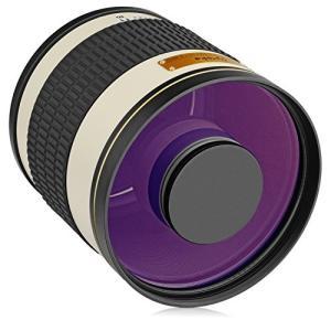 (新品未使用)Opteka 500?mm / 1000?mm f / 6.3望遠ミラーレンズfor Nikon d5?, d4s , d4 3-sense