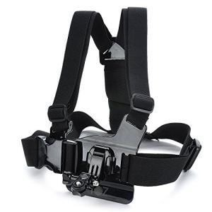 (新品未使用)調節可能な胸ボディハーネスベルトストラップマウントfor Sony Action Ca...