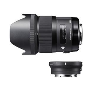 (新品未使用)SIGMA Art 35mm F1.4 DG HSM キヤノン用 & マウントコンバー...