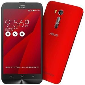 (新品未使用)エイスース SIMフリースマートフォン ZenFone Go レッド ZB551KL-RD16|3-sense