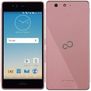 (新品未使用)富士通 SIMフリースマートフォン arrows M03(ピンク) FARM06104(M03ピン|3-sense