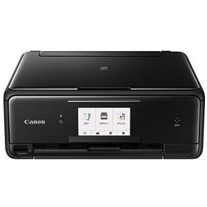 (新品未使用)Canon インクジェットプリンター複合機 TS8030 BK ブラック|3-sense