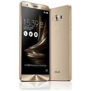 (新品未使用)ASUS SIMフリースマートフォン ZenFone 3 Deluxe ゴールド ZS570KL-GD256S6|3-sense