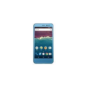 (新品未使用)507SH Android One ワイモバイル スモーキーブルー|3-sense
