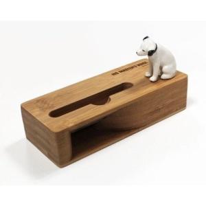 (新品未使用)ビクター ニッパー スマホ スタンド スピーカー VICTOR NIPPER ビクター犬|3-sense