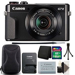 (新品未使用) Canon PowerShot g7?X Mark II 20.1?MP CMOSセ...