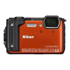 (新品未使用)Nikon デジタルカメラ COOLPIX W300 OR クールピクス オレンジ 防...