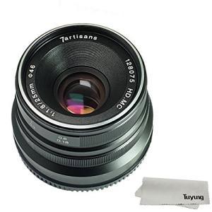 (新品未使用)7職人25?mm f1.8マニュアルフォーカスレンズfor Fujifilm Fuji...