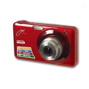 (新品未使用) ジョワイユ 20MEGA PIXEL 光学ズーム デジタルカメラ レッド  【メーカ...