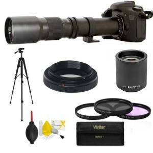 (新品未使用)プロフェッショナルHD 500???1000?mm Telescopic望遠レンズfor Nikon d3000|3-sense