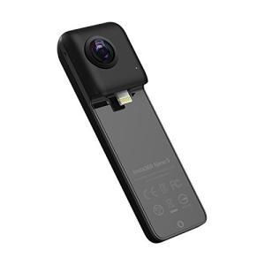(新品未使用)Insta360 Nano S Black 360度カメラ 4Kビデオ iPhone ...