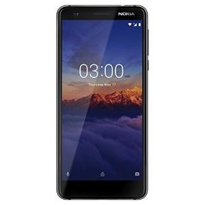 (新品未使用)Nokia 3.1- Android One (Oreo) - 16 GB ブラック SIMフリー|3-sense