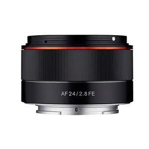 (新品未使用)SAMYANG 単焦点広角レンズ AF 24mm F2.8 FE ソニーαE用 フルサ...