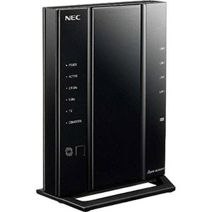 (新品未使用) NEC 11ac対応 1733+800Mbps 無線LANルータ(親機単体)Ater...