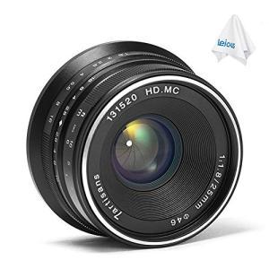 (新品未使用) 7職人25?mm f1.8手動フォーカスプライム固定レンズfor Canon eos...