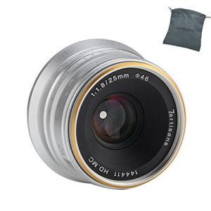 (新品未使用) 7職人25?mm f1.8マニュアルフォーカスMF Prime Lens for P...