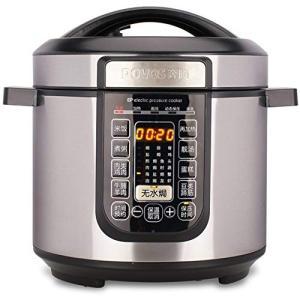 (新品未使用)電気炊飯器,圧力鍋 8 L 大容量多機能インテリジェント予定電気圧力炊飯器蒸|3-sense
