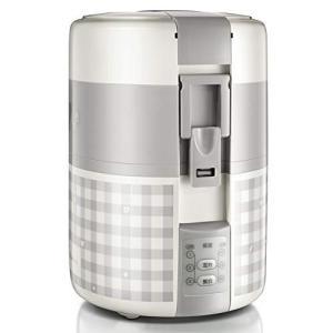 (新品未使用) ミニ炊飯器,一人用電気ランチ ボックス 1 つ小米炊飯器ご飯鍋電気炊飯器食品スティー...