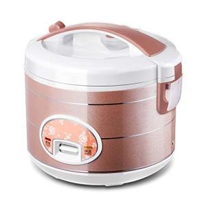(新品未使用) ミニ炊飯器,ホームの旧式米炊飯器炊飯器小さな遅い炊飯器 1-2-3-4 人 4 L ...