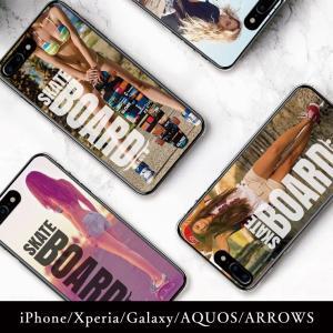 iPhone11 ケース 11Pro iPhoneX/XS XSMax XR ケース iPhone7 ケース スケボー ストリート セクシーガール アメリカン|301-shop