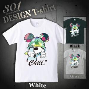 Tシャツ 半袖 メンズ 2019 新作 UNISEX Smoking Mouse ネズミッキー カン...