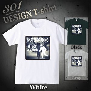 Tシャツ 半袖 メンズ 2019 新作 UNISEX Skateboard スケボー ニューヨーク ブルックリン ストリート カッコイイクルーネック Uネック プリントTシャツ|301-shop