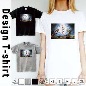 Tシャツ 半袖 2019新作 ユニセックス レディース メンズ プリントTシャツ basketball バスケ サンプリング カーメロ god cooll|301-shop