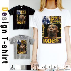 Tシャツ 半袖 2019新作 ユニセックス レディース メンズ プリントTシャツ kobe バスケ 24 Los Angeles かっこいい|301-shop