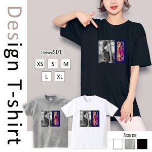 Tシャツ 半袖 2019新作 ユニセックス レディース メンズ プリントTシャツ ペア セクシー ガール スケボー ストリート ロゴ 英字 かっこいい|301-shop