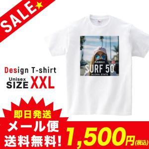 SALE Tシャツ 半袖 2019新作 ユニセックス レディース メンズ プリントTシャツ セール サーフガール SURF 50 ALOHA ホワイト XXL 301-shop