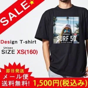 SALE Tシャツ 半袖 ユニセックス レディース メンズ プリントTシャツ セール セクシー ガール フォトT ストリート ハワイ アロハ SURF ALOHA 301-shop