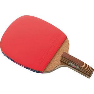 バタフライ 卓球ラバー貼りラケット センコー1500 ペンホルダー 10950|311018