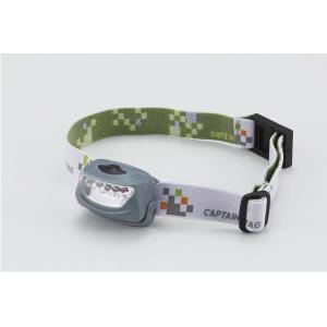 キャプテンスタッグ CAPTAINSTAG E C ウエスト&ヘッドライト MTGY M5149|311018