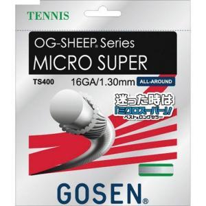 ゴーセン 硬式テニスガット OG-SHEEP ミクロスーパー16 TS400