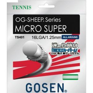 ゴーセン 硬式テニスガット OG-SHEEP ミクロスーパー16L TS401