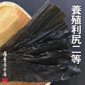 利尻昆布 養殖2等 300g 〜 北海道水産物検査協会検査物 〜|3208