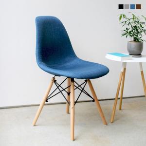 イームズチェア シェルチェア クッション ウッドベース 椅子 イス ダイニングチェア DSW eames ファブリック ナチュラル 木脚 リプロダクト MTS-100|3244p