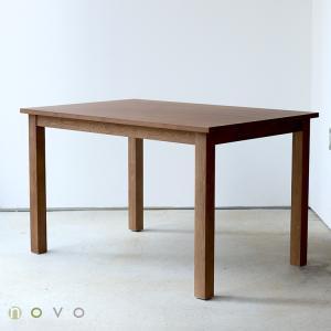 ダイニングテーブル アウトレット セール W1200 120cm 2〜4名用 ナチュラル ウォールナット アッシュ 木製 novo series ノヴォシリーズ|3244p