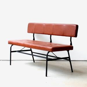 anthem LD Bench ベンチ アンセム ANC-3050BR ダイニング ベンチ 椅子 ソファ ヴィンテージ 一人暮らし|ミツヨシ