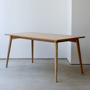 カラメリダイニングテーブル W1500 幅150cm KRM-150NA Karameri dining table 東谷 room essence|3244p